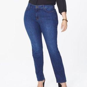 NYDJ Marilyn Straight Leg Jean NWT 16W